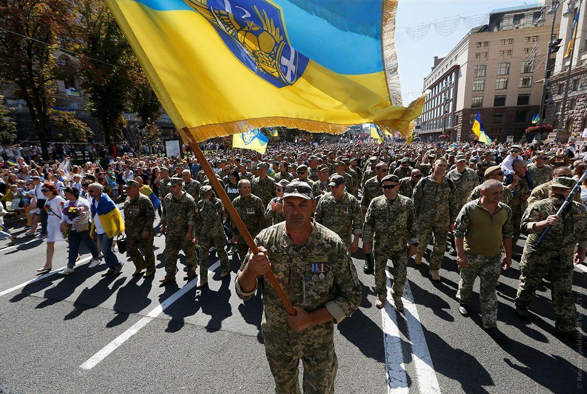 Марш захисників України: як вдалося організувати та уникнути політики - 30 августа 2019 - 24 Канал