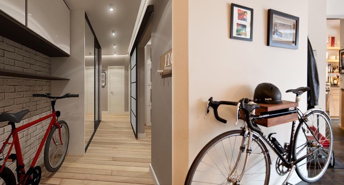 велосипед в коридорі