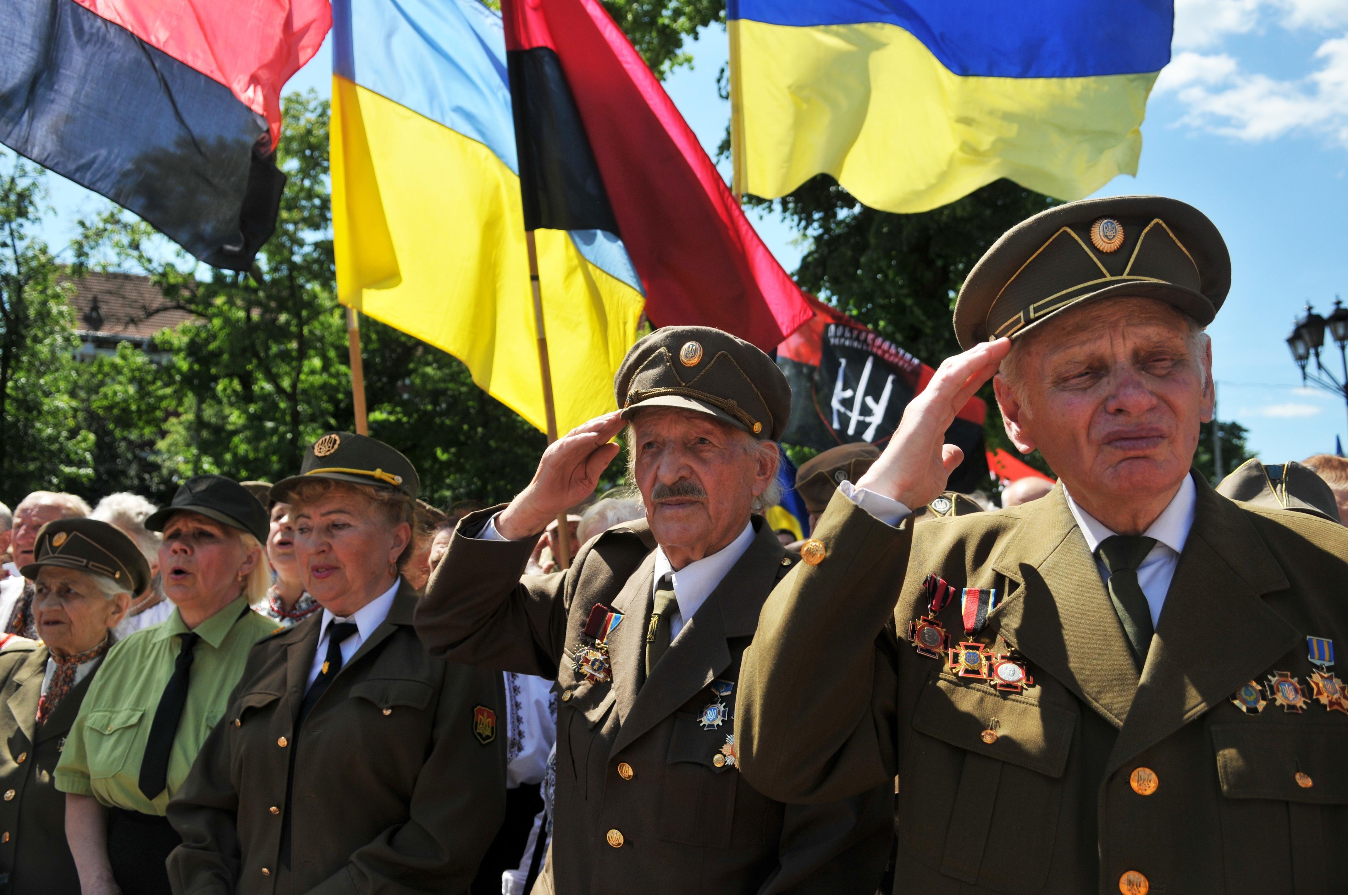 прапор ОУН УПА фото