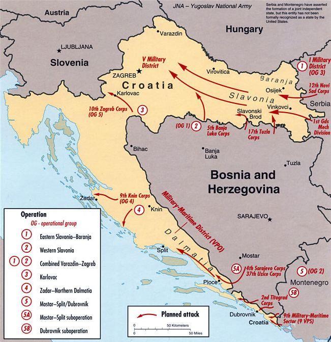 хорватія війна