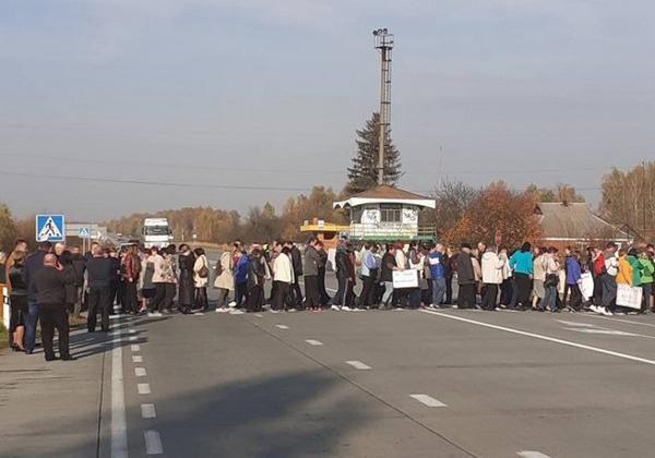 протест Житомирщина вчителі зарплати