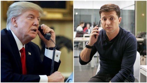 Телефонна розмова Трампа і Зеленського