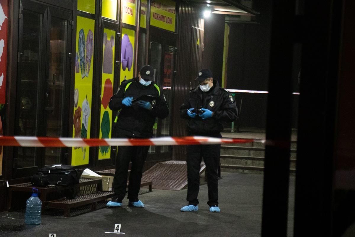 вибух Троєщина ринок Київ кримінал поліція фото