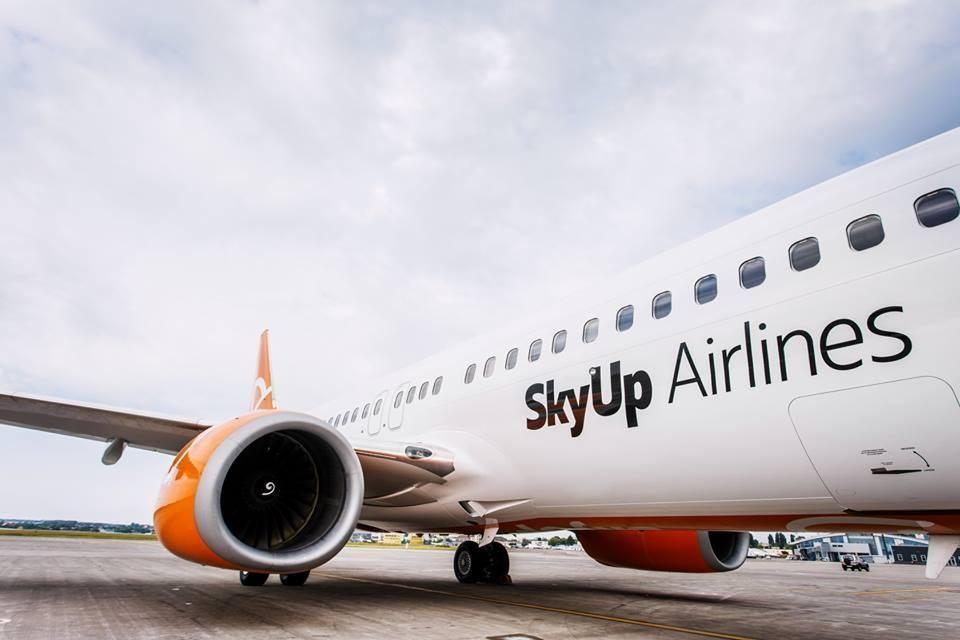 SkyUp нові авіарейси листопад