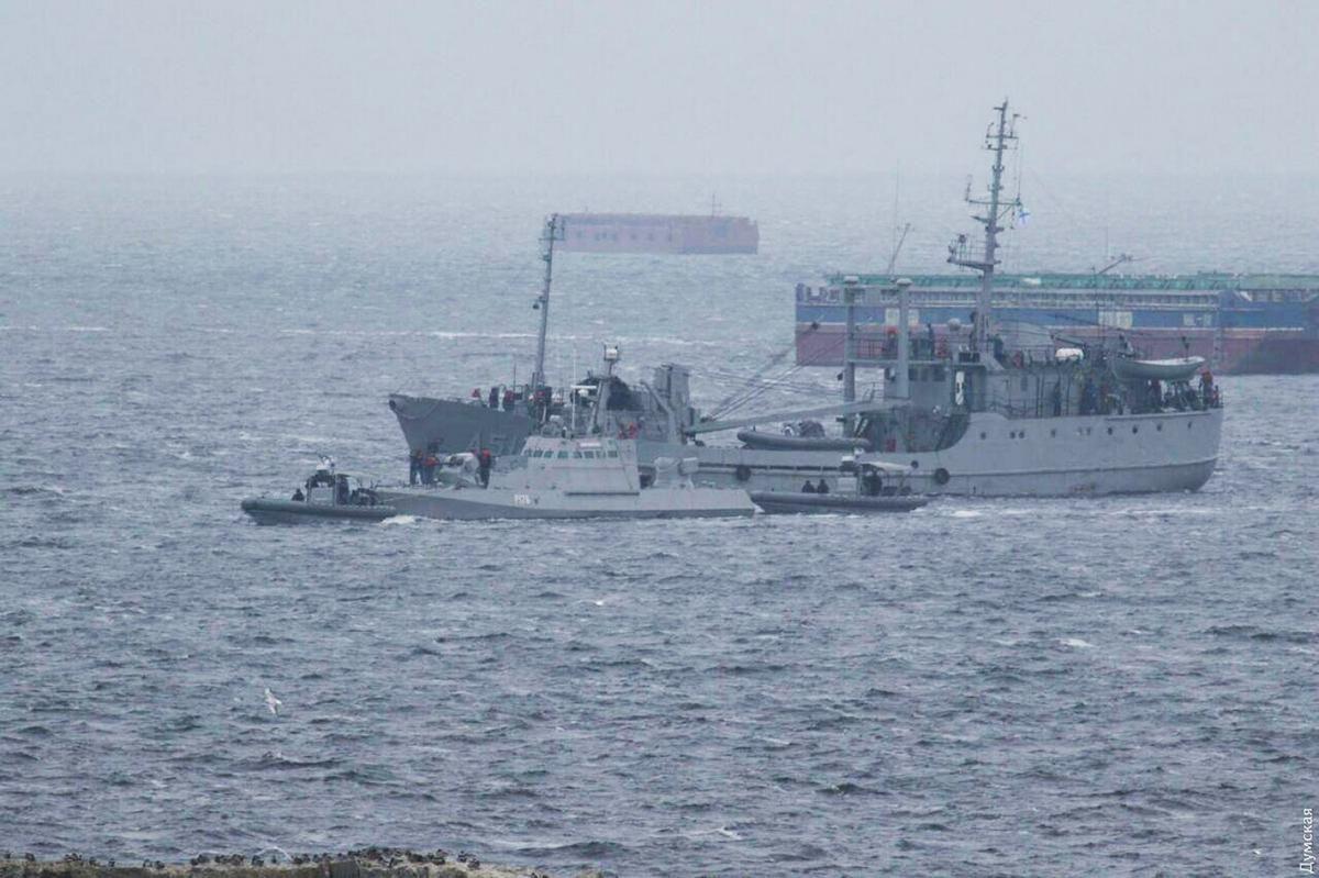 українські кораблі повернення Очаків фото