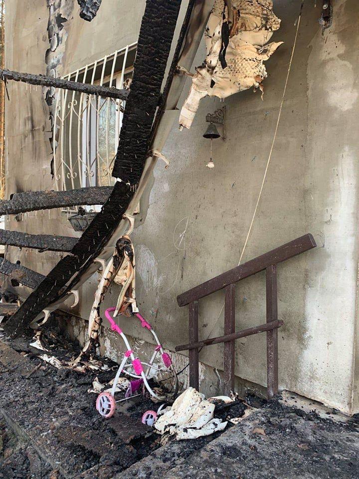 згорів будинок ветеран АТО Коряк