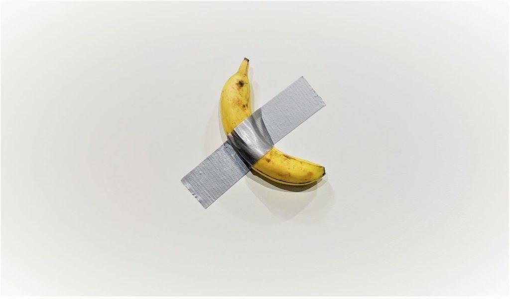 банан на скотчі мистецтво культура виставка
