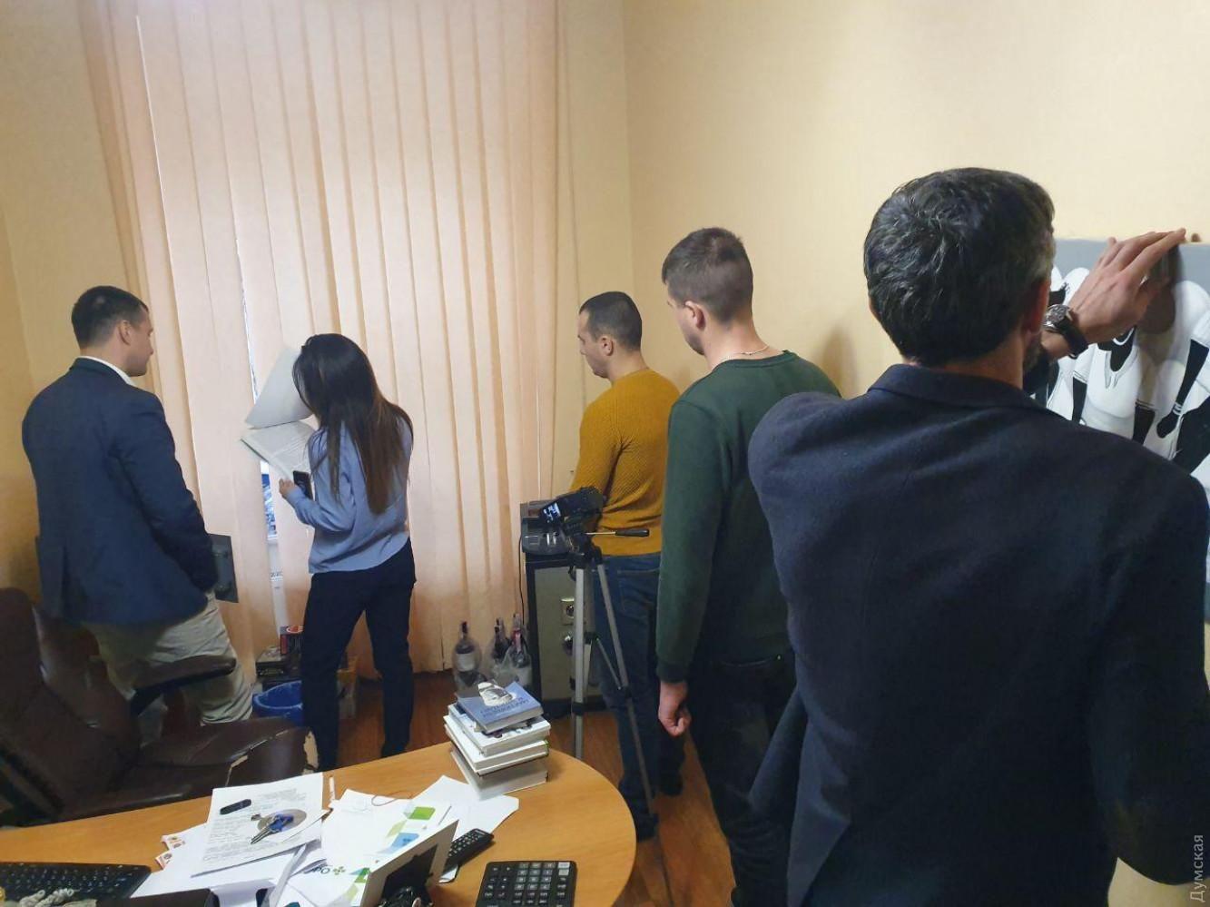 обшуки Думская ТВ НАБУ Одеса