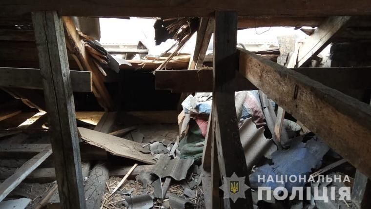 Обстріл бойовики Золоте-4 фото Донбас руїни