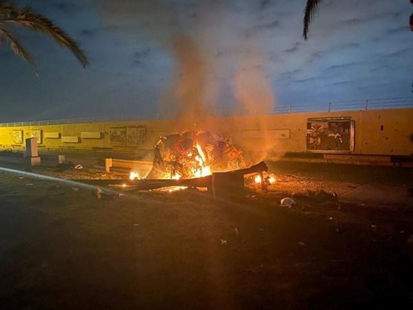 обстріл аеропорту Багдад фото вбивство Сулеймані