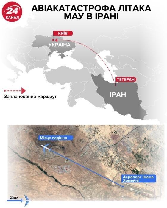9 січня в Україні – день жалоби за загиблими в авіакатастрофі в Ірані