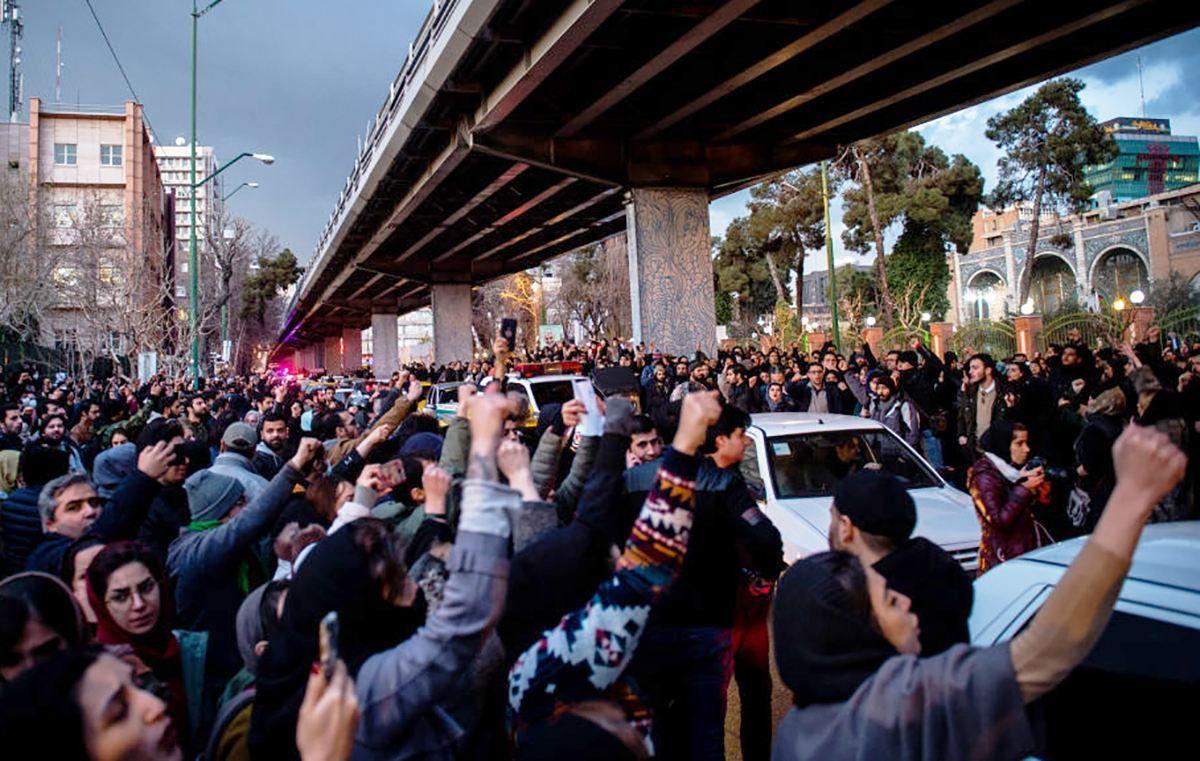 протести Іран Тегеран фото