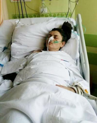 українку з інсультом кинув на вулиці роботодавецьь у Польщі Оксана Харченко