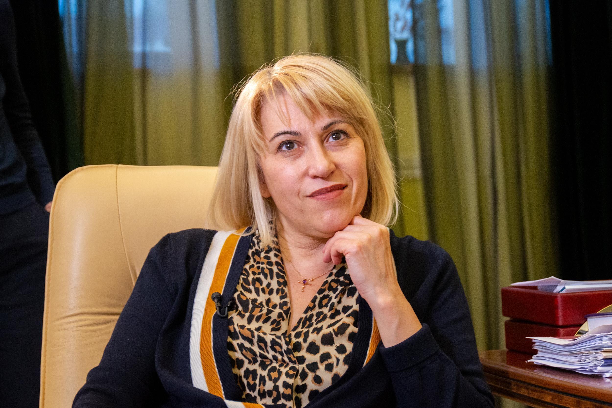 Алена Бабак - Минразвития общин и территорий - интервью