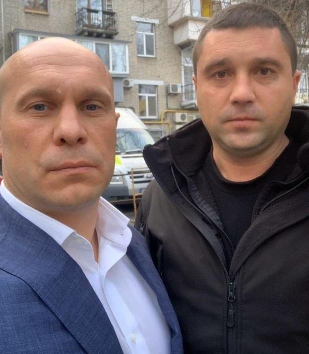 Ілля Кива охоронець скандал Воробйов