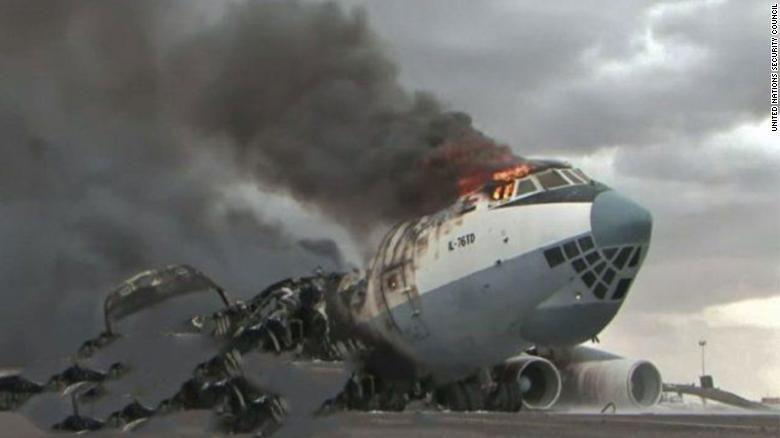 Збитий літак Скайавіатранс Лівія 2019 фото катастрофи