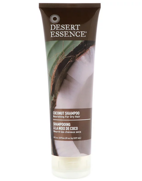 шампунь для сухого волосся безсульфатний з кокосом