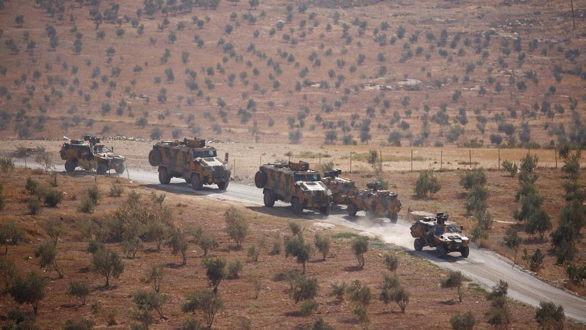 Російська авіація атакувала турецький конвой у Сирії, загинули 22 війс
