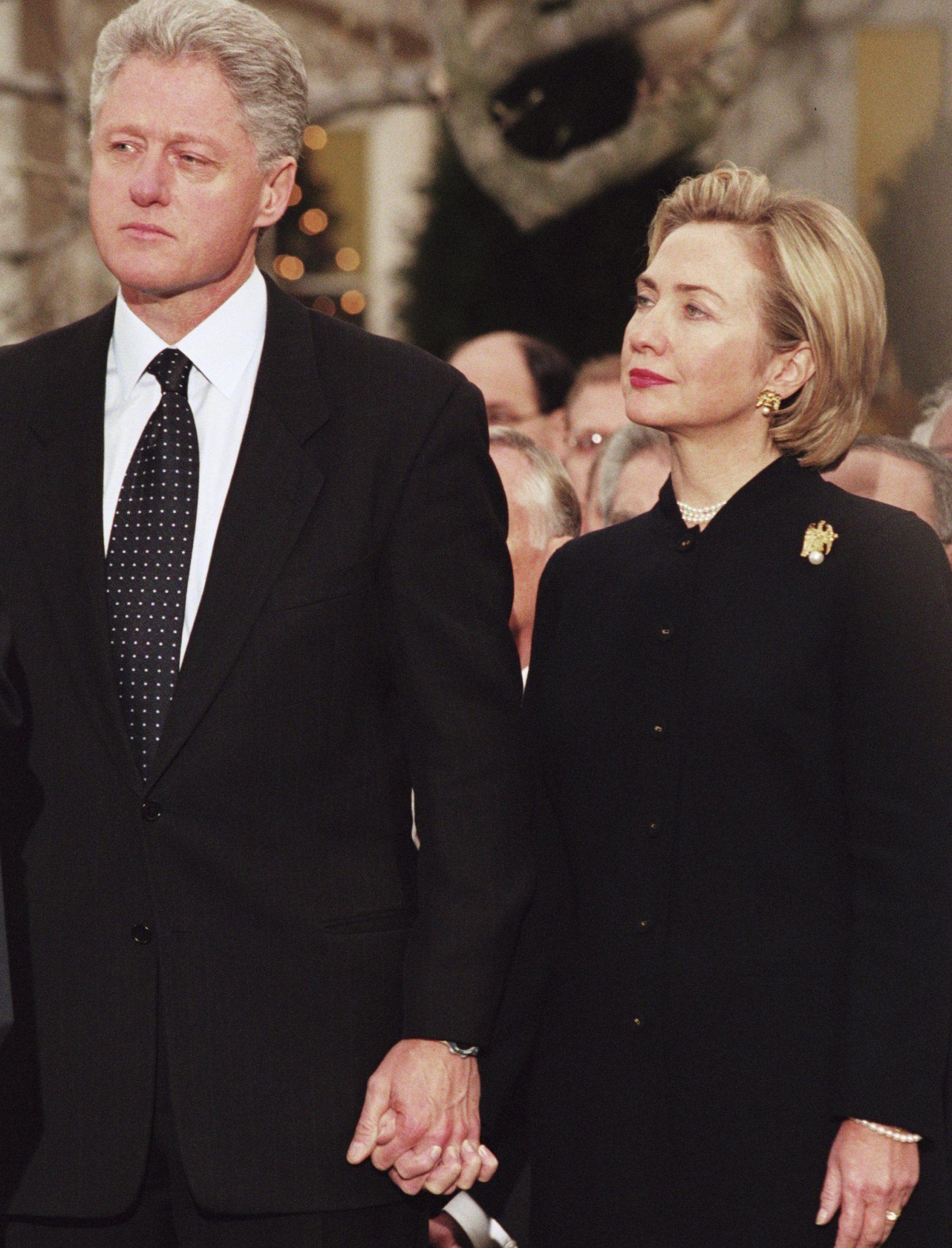 Подружжя Клінтонів