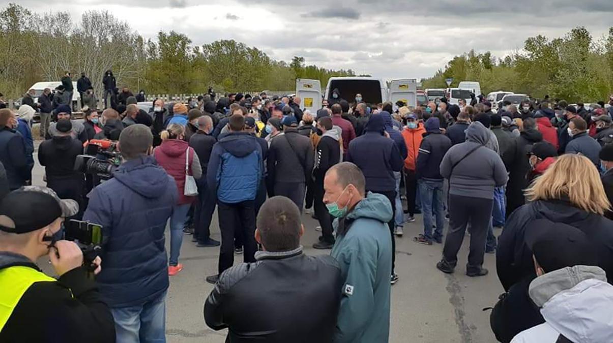 Украинские фермеры находятся в полном отчаянии
