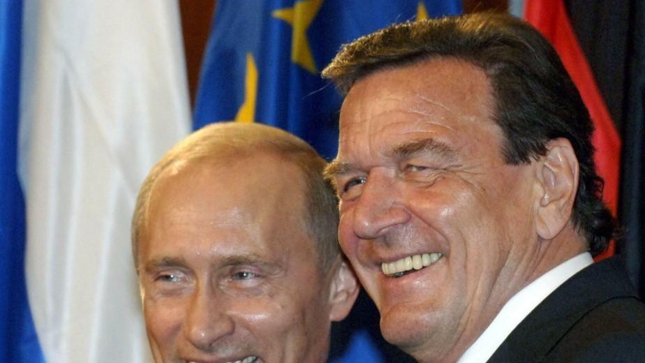 Путін та Шредер