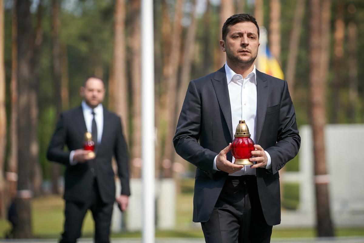 Зеленский почтил память жертв политических репрессий: фото - 24 Канал