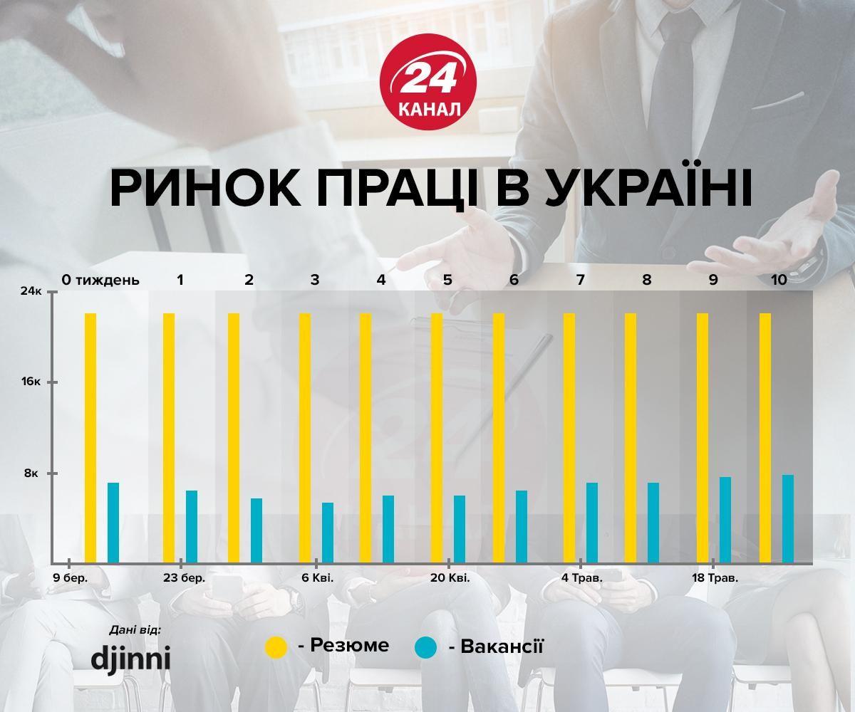 ринок праці для ІТ інфографіка 24 канал