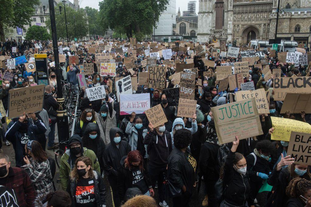 Протести у Лондоні