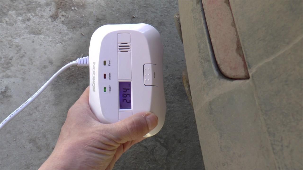 Автономний детектор газу