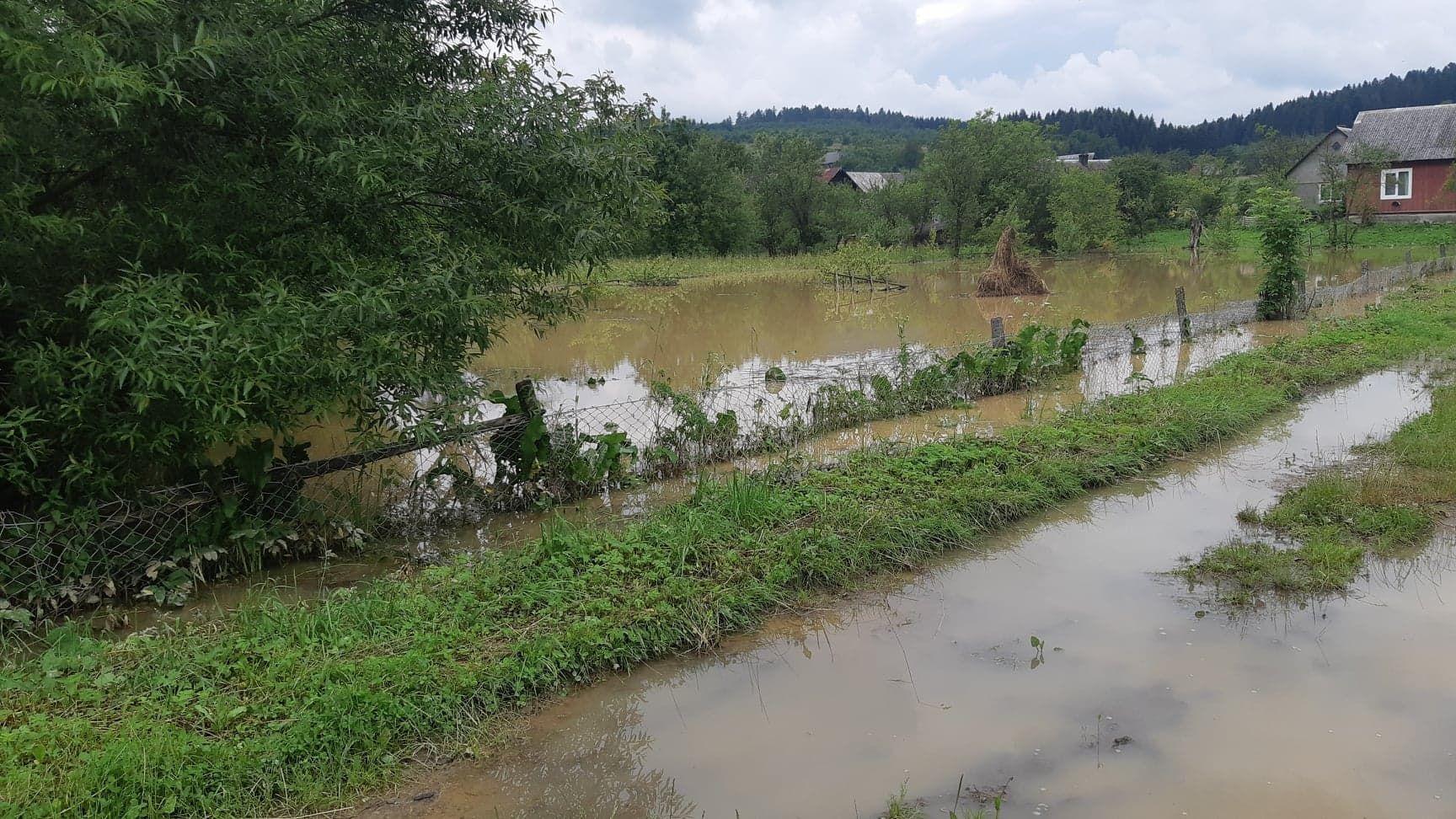 Штормовое предупреждение в Львовской области 5 июля 2020