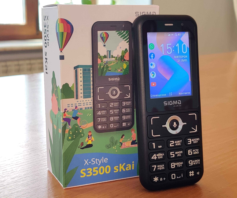 Обзор 'кайфона' X-STYLE S3500 sKai от Sigma mobile: технические характеристики и особенности
