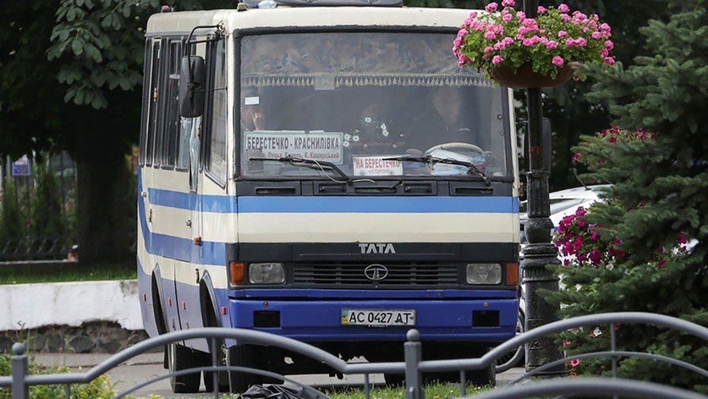 Луцький терорист тримав весь у заручниках весь автобус