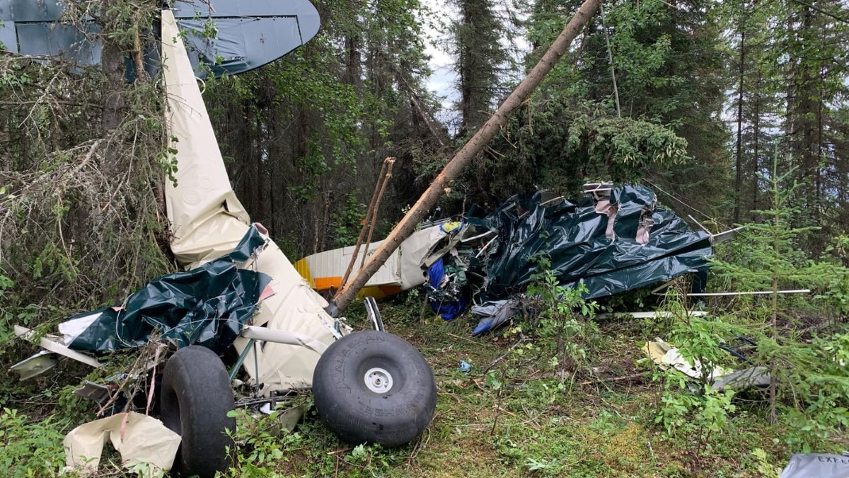 Авіакатастрофа над Аляскою