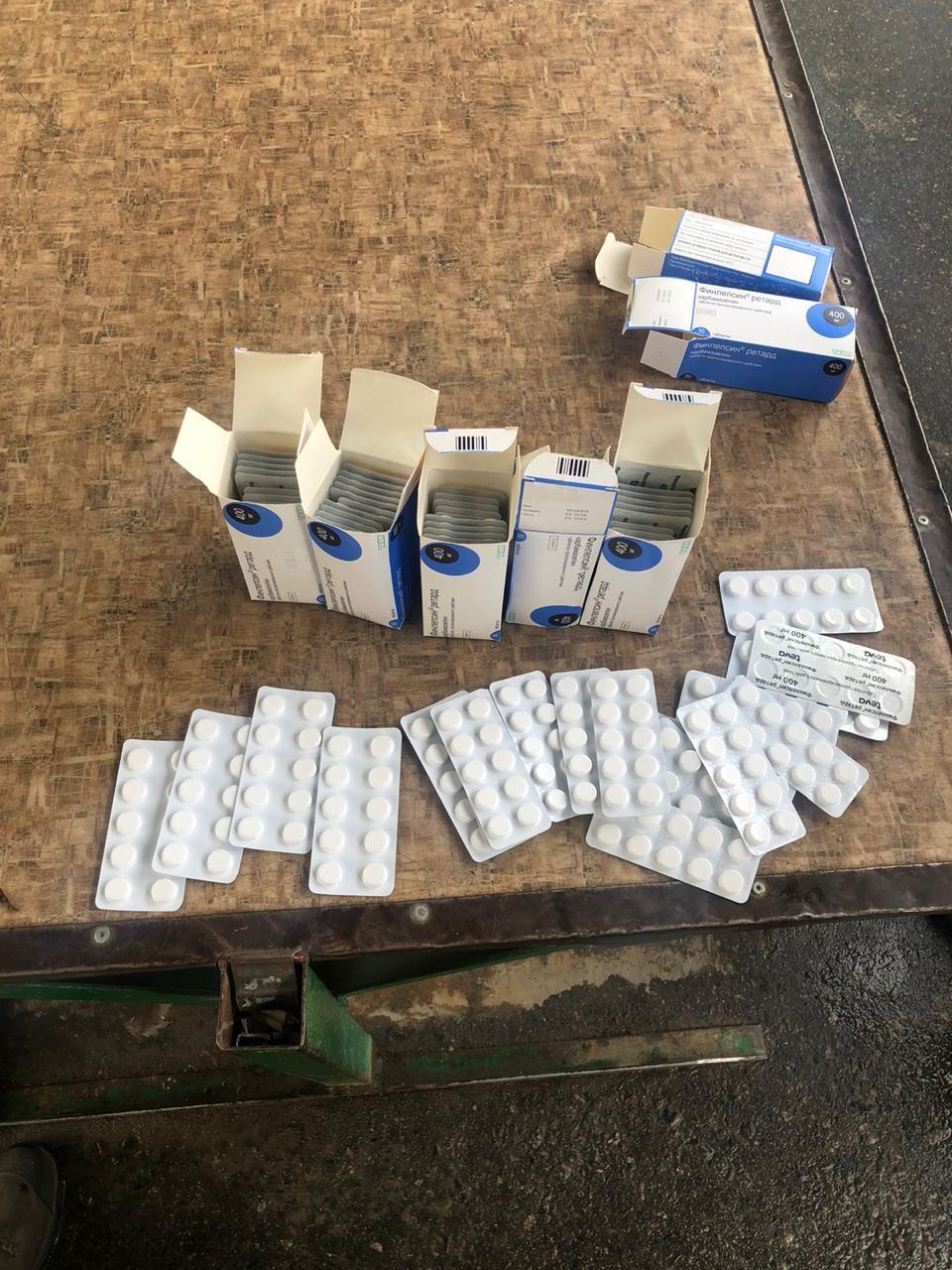 Жінка перевозила 740 таблеток психотропів