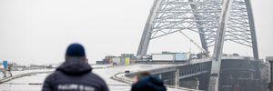 """Скандал навколо чергового """"мосту Кличка"""": що не так із тросами та чи дійсно їх украли"""