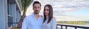 В бикини и на руках у мужа: Екатерина Кухар умилила сеть романтичным видео с отдыха