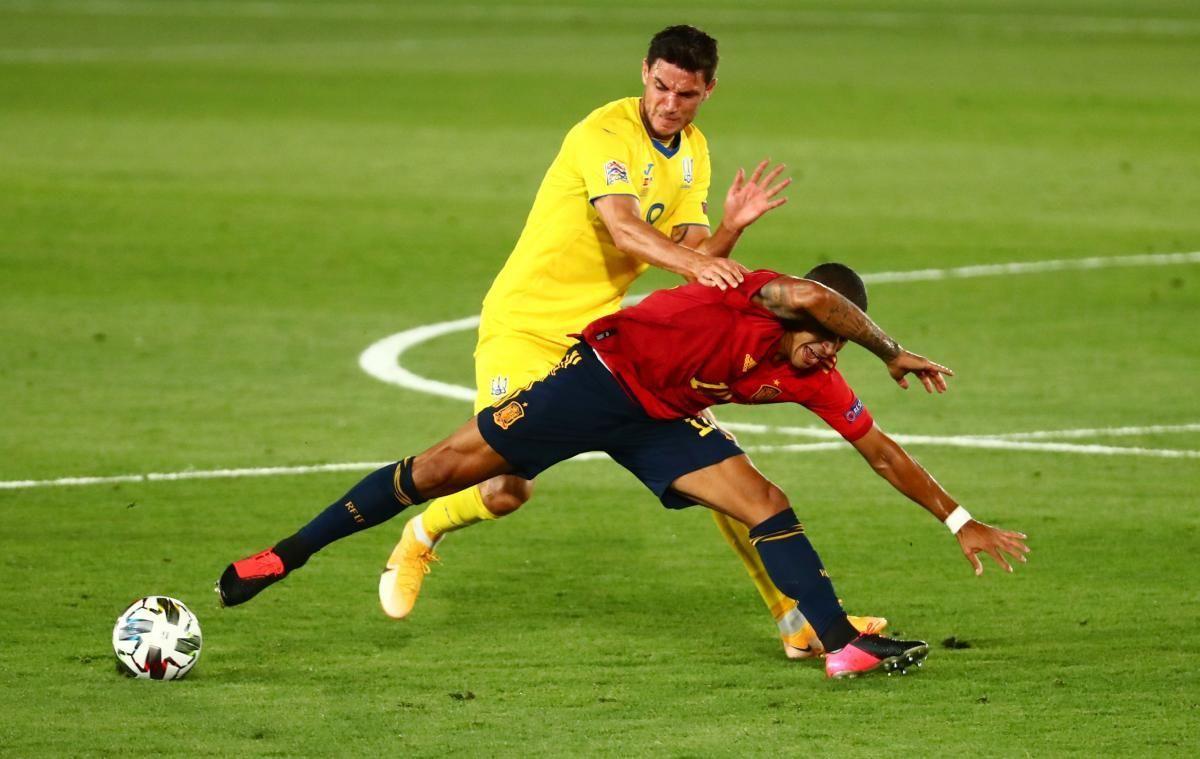 06.09.2020 Испания - Украина - 4:0. Обзор матча