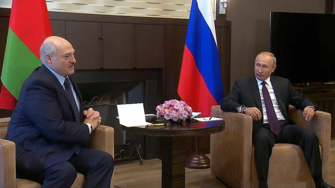 Зустріч Лукашенка і Путіна у Сочі