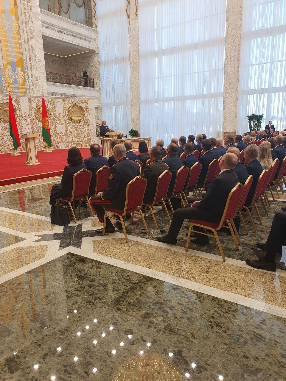 Інавгурація Лукашенка