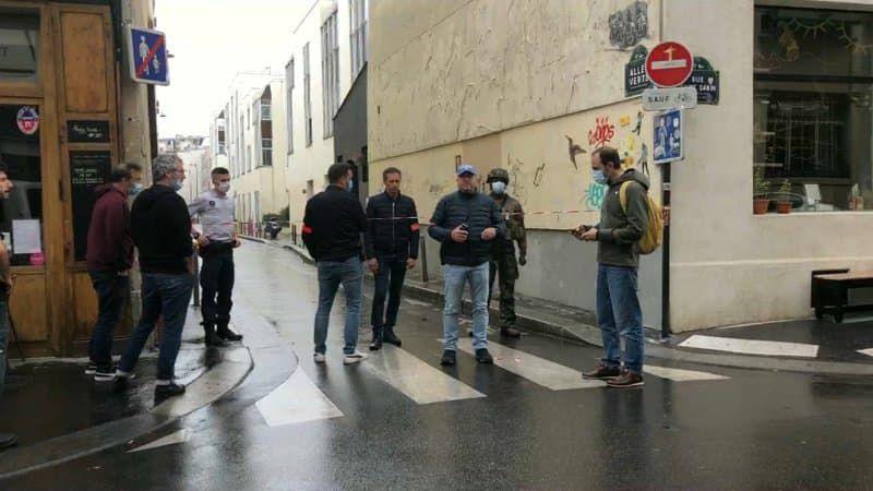 Напад біля будівлі редакції charlie hebdo