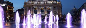 У Львові почав працювати сухий фонтан за 1,5 мільйона доларів: фото і відео