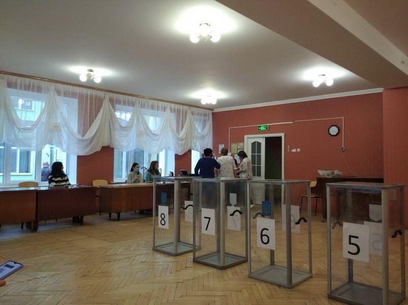 Порушення голосування у Житомирі