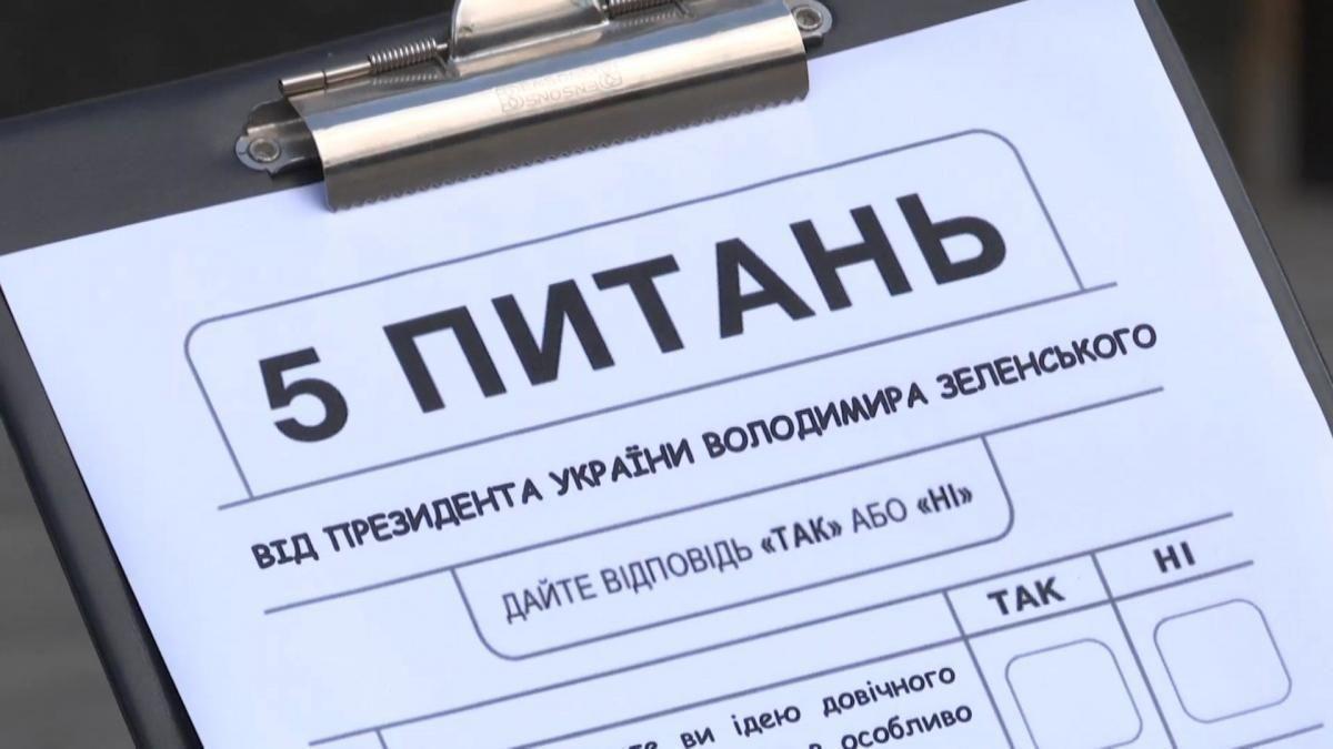 Як відреагували українці на опитування Зеленського: результати екзитпо