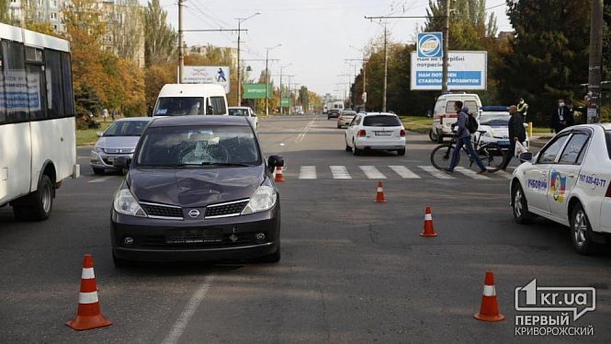V Krivom Roge Nissan Sbil Dvuh Shkolnikov Na Peshehodnom Perehode Video 18 Novosti Krivogo Roga 24 Kanal