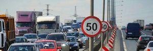 На 7 вулицях Києва з 1 листопада діятимуть нові обмеження швидкості: перелік