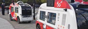 KFC запустила у Китаї безпілотні фургони, у яких можна придбати їжу: фото