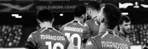 """Легенда клубу: гравці """"Наполі"""" вийшли на матч Ліги Європи у футболках Марадони – фото"""