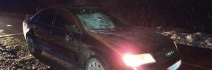 На Львівщині п'яний водій на смерть збив жінку: фото