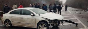 Обганяв зустрічкою: у Харкові Volkswagen розніс 4 авто – фото