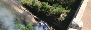 В Бразилии пассажирский автобус слетел с моста: более 25 пострадавших, много погибших